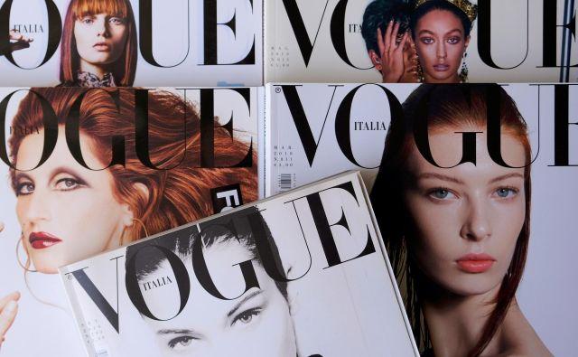 Vogue Italia je italijanska revija z najvišjo naklado. Foto Shutterstock