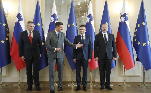 Na zadnjih volitvah so kar zajetno večino dobile levosredinske stranke in Levica. Foto Leon Vidic