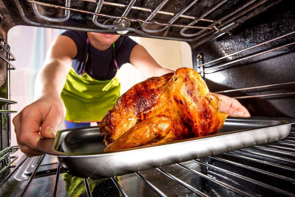 Pečen piščanec na športni način
