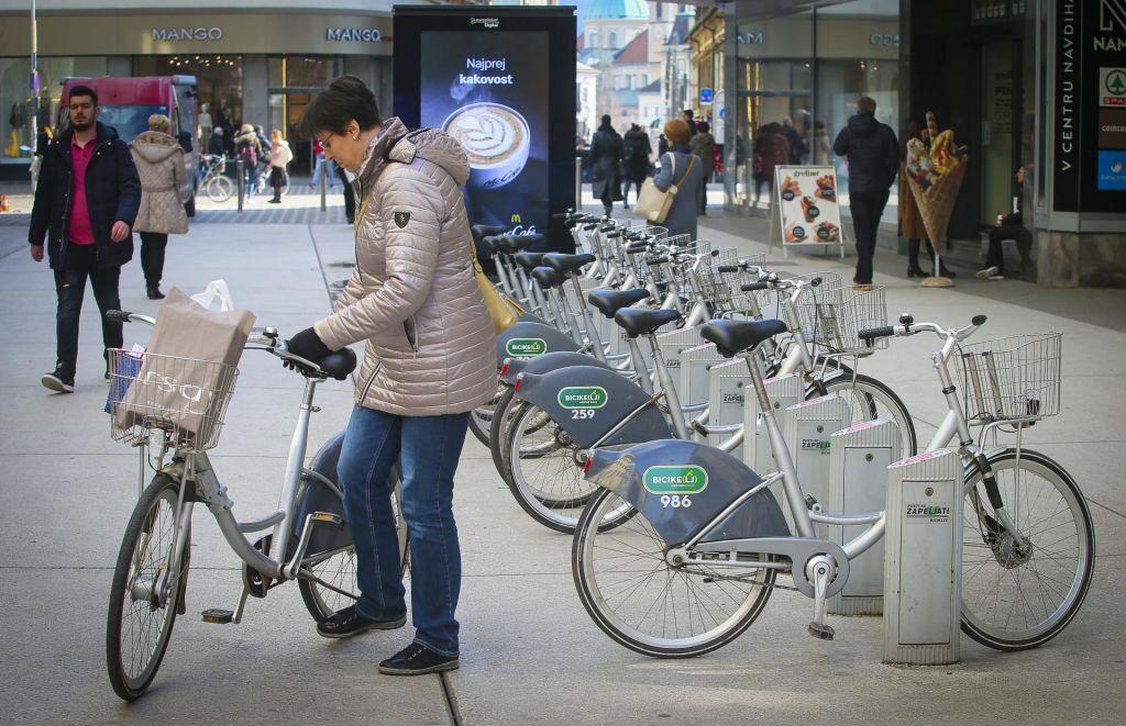 Lokacije za nove kolesarnice še niso določene