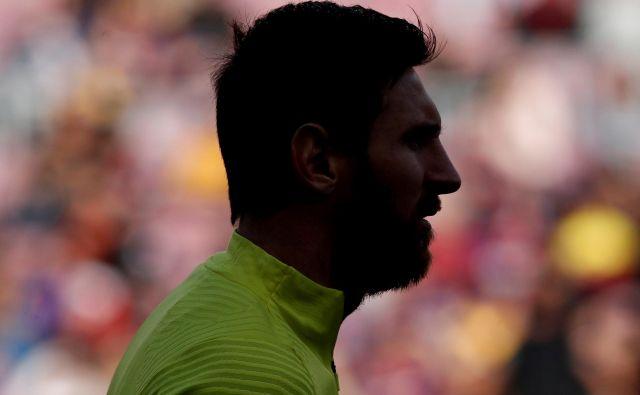 Na Lionela Messija so se spravili zato, ker je odlašal s podaljšanjem pogodbe z vodstvom Barcelone. FOTO: Reuters