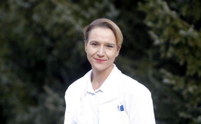 Neuropediatrinja doc. dr. Tina Bregant FOTO: Mavric Pivk