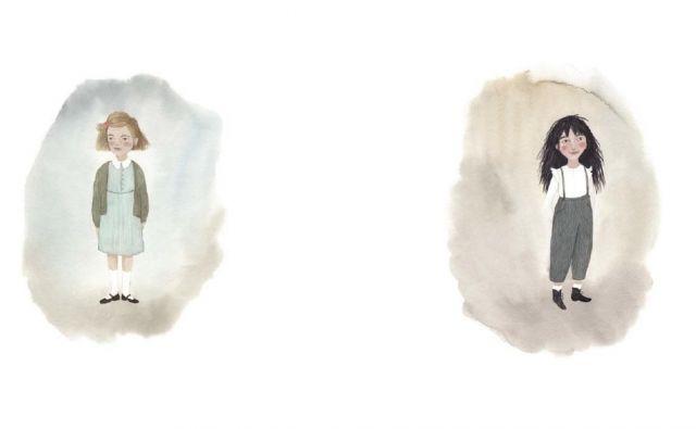 Sledimo zgodbi dveh deklic Foto Promocijsko Gradivo