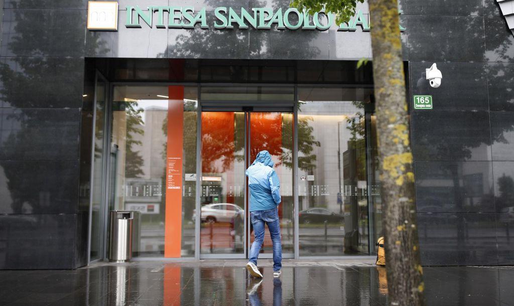 Banka Intesa Sanpaolo lani s precej višjim dobičkom