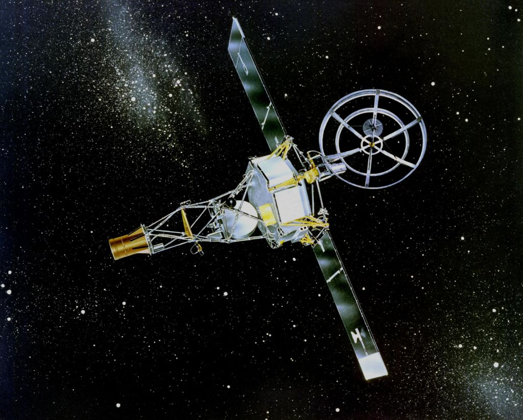 FOTO:Sonda, ki je prva od blizu videla pekel Venere