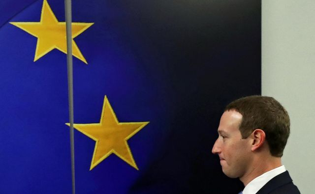 V zadnjih tednih je bil gost visokih predstavnikov evropske komisije tudi prvi mož Facebooka<strong> Mark Zuckerberg</strong>. FOTO: Reuters