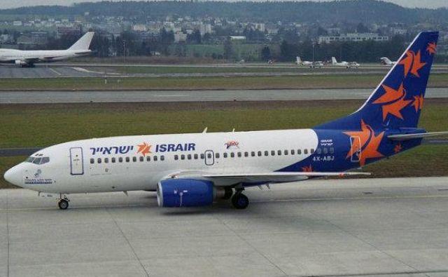 Tretja največja izraelska letalska družba bo med koncem maja in sredino oktobra letališči povezovala dvakrat tedensko. Foto: STO