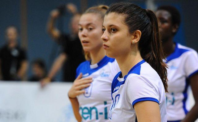 Kanadska reprezentantka Sara Kovač je upravičila novogoriška odbojkarska pričakovanja, a takšno ni splošno stanje. FOTO: GEN-I Volley