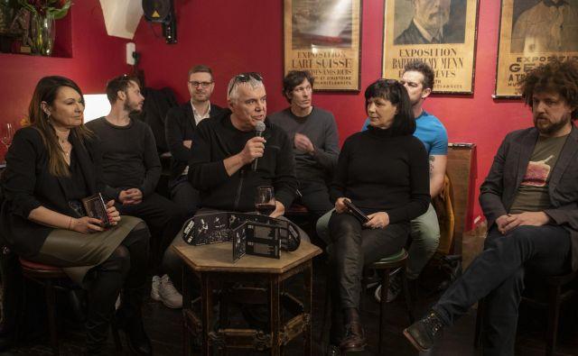 Zasedba Lačni Franz z gosti je predstavila album <em>Tu smo – vaši smo</em><em>!</em>. FOTO: Voranc Vogel