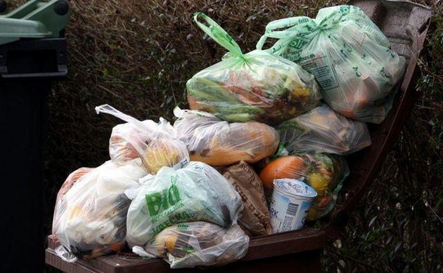 Marjetica Koper v primeru stavke ne bo odvažala smeti, razen iz javnih ustanov kot so šole, vrtci in zdravstveni domovi. FOTO: Igor Modic/Delo