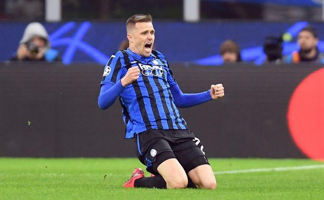 Josip Iličić je zablestel tudi v tekmi lige prvakov z Valencio. FOTO: Reuters