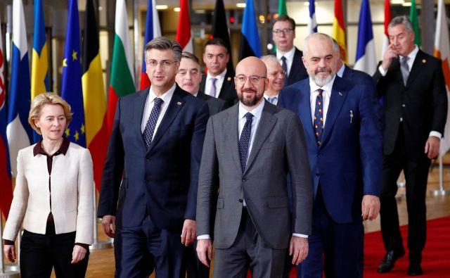 V nasprotju s slovenskimi poročili je münchenska varnostna konferenca<em></em>tako rekoč obšla Zahodni Balkan. FOTO: Francois Lenoir Reuters