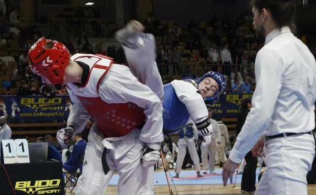 V Ljubljani bo predstavil svoje znanje tudi udeleženec olimpijskih iger v Tokiu Ivan Trajković. FOTO: Bla�ž Samec