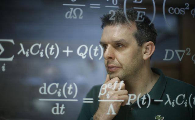 Luka Snoj fizik, doktor znanosti, vodja reaktorja Triga.<br /> Foto Jure Eržen/Delo