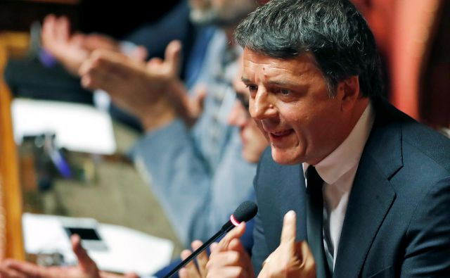 Odkar je Renzi minulo jesen, dva tedna po oblikovanju nove vlade ustanovil lastno stranko, smo vedeli, da bo postavljal ultimate. Matteo Renzi. FOTO: Reuters