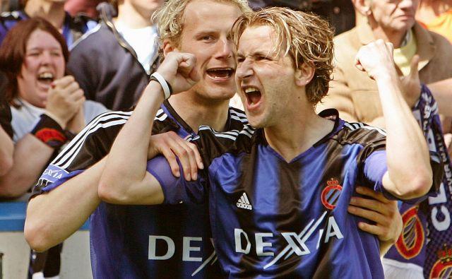 Nastja Čeh v času igralske karieri v Belgiji. FOTO: Reuters