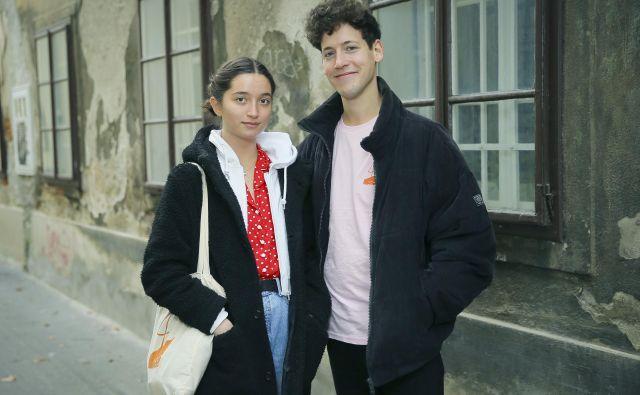 Zala in Gašper. Foto Jože Suhadolnik