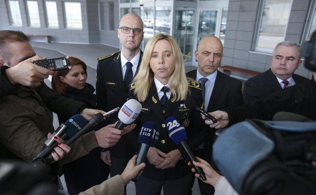Tatjana Bobnar je glede sumov morebitnih kaznivih dejanj v primerih domnevnega vohunjenja poudarila, da predkazenski postopek vodijo zoper osebe izven policije. FOTO: Jože Suhadolnik/Delo