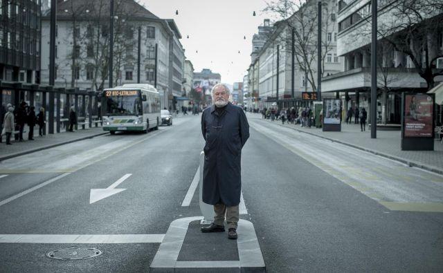 Bogdan Lipovšek, nekdanji direktor Grand hotela Union. Foto Voranc Vogel