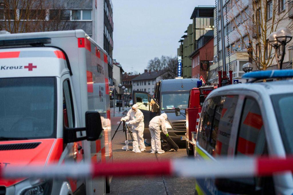 FOTO:Nemško zvezno tožilstvo strelska napada obravnava kot terorizem