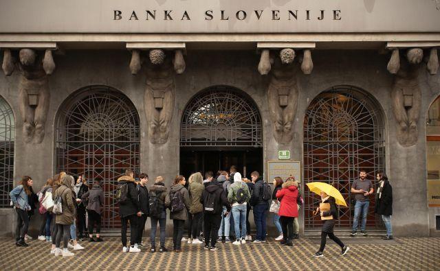 »Banke so leto 2019 zaključile z zgodovinsko najvišjim dobičkom pred obdavčitvijo,« so objavili v Banki Slovenije. FOTO: Jure Eržen/Delo