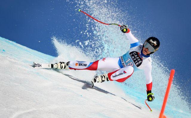 Lara Gut-Behrami je bila najhitrejša na domačem smučišču. FOTO: AFP