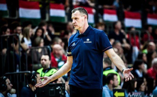 Rado Trifunović se je po novem porazu znašel pod plazom ostrih kritik. Foto FIBA