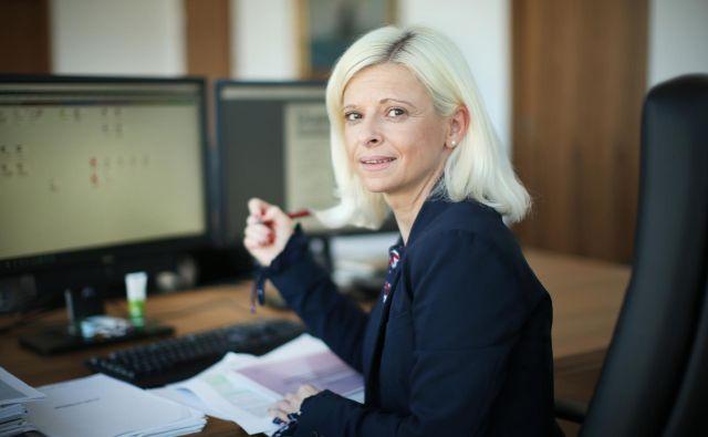 Klampferjeva je prejšnji teden odstopila kot podpredsednica SMC ter se odločila za izstop iz stranke. FOTO: Jure Eržen/Delo