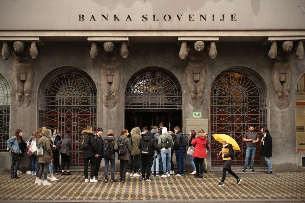 Banke v Sloveniji lani do rekordnega dobička