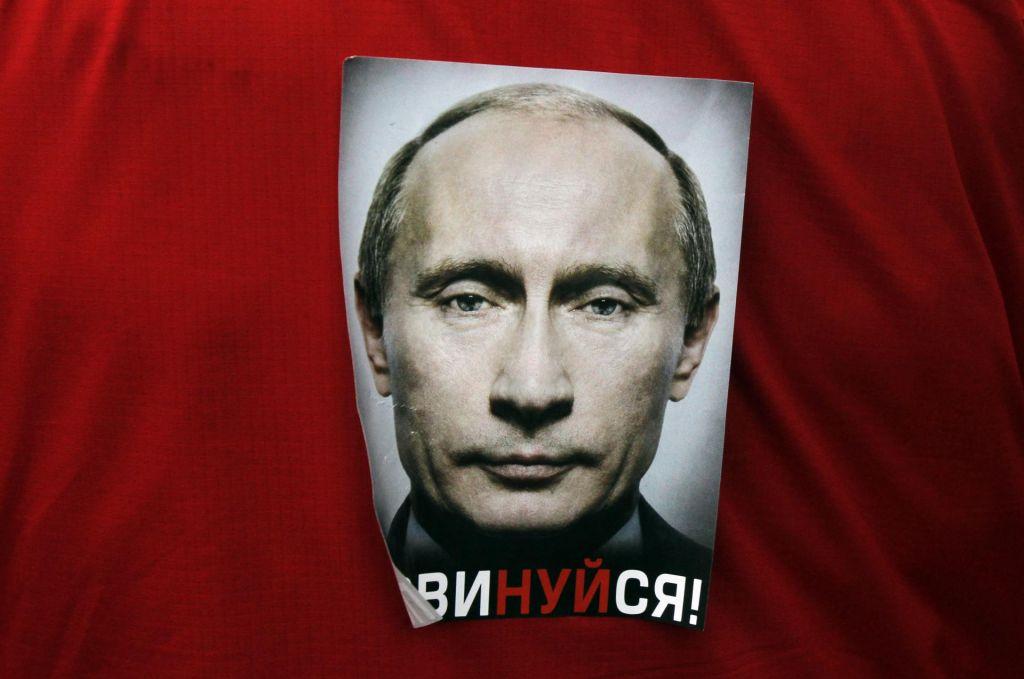 FOTO:Vstale so meglice nad Kremljem