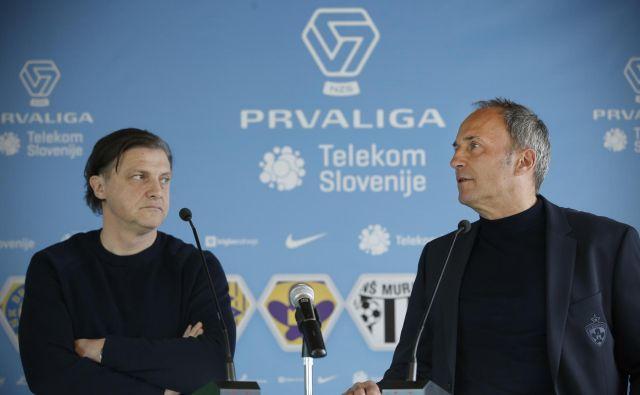 Safet Hadžić in Darko Milanič sta se že ozrla v nadaljevanje prvenstva, ki bo sledilo že v torek in sredo. FOTO: Jure Eržen