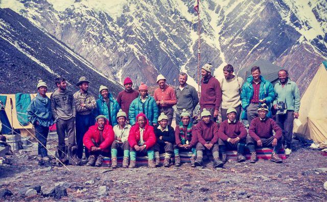14. Festival gorniškega filma. Na fotografiji Odprava Anapurna 1969. Foto Lojze Golob