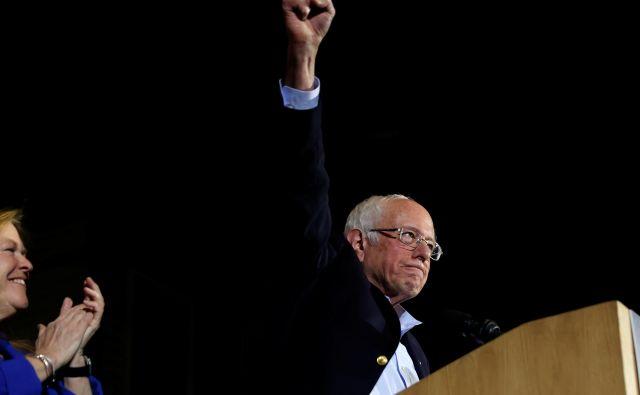 Senator iz Vermonta Bernie Sanders. FOTO: Reuters