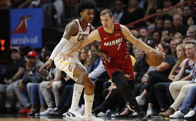 Miami je z razmerjem 36 zmag in 20 porazov četrta najboljša ekipa vzhodne konference lige NBA. FOTO: AFP