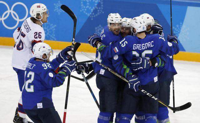 Risi so na zadnje med elito nastopili na olimpijskem turnirju pred dvema letoma, zdaj se želijo vrniti v skupino A svetovnega hokeja. FOTO: Matej Družnik/Delo