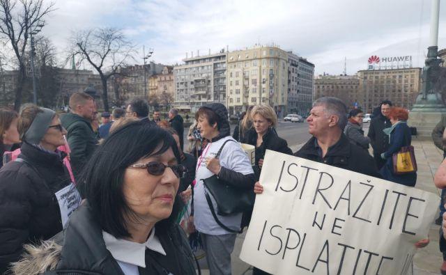 Mirjana Novokmet, predsednica Beograjske skupine staršev izginulih dojenčkov, meni, da je zakon sramoten.<strong> </strong>Foto Milena Zupanič
