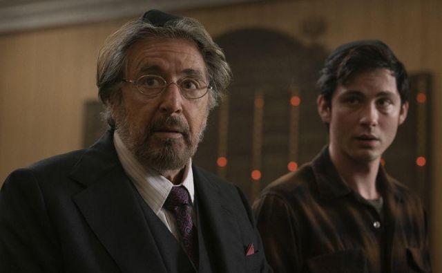Dve generaciji v <em>Lovcih</em>, Al Pacino in Logan Lerman Foto promocijsko gradivo