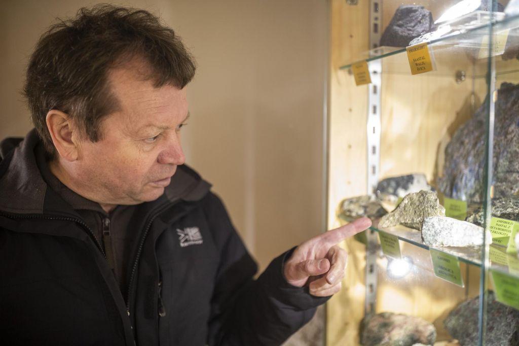 FOTO:Od kamnin z Antarktike do pohorskih diamantov