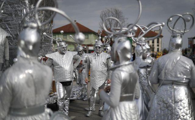 30. pustni karneval na Viru pri Domžalah. FOTO: Leon Vidic/Delo