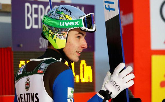 Timi Zajc se nadeja, da bo vrhunsko pripravljenost dobro unovčil do konca sezone. FOTO: Reuters
