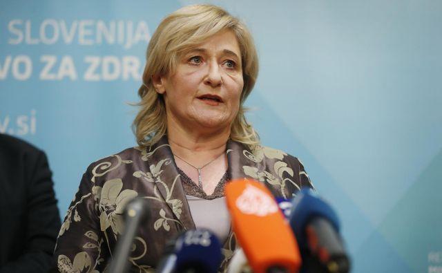 Državna sekretarka na ministrstvu za zdravje Simona Repar Bornšek. FOTO: Leon Vidic/Delo