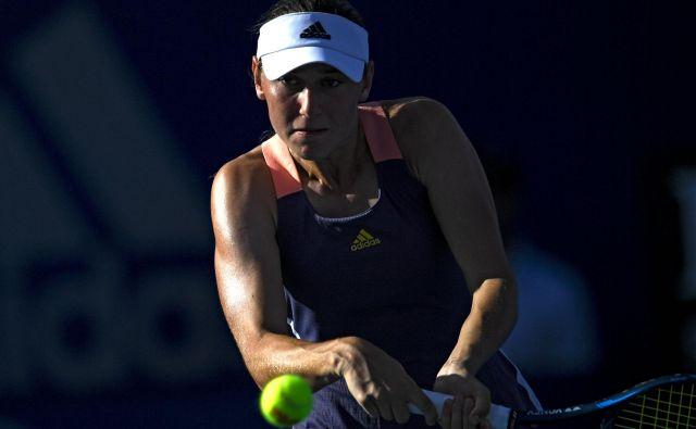 Kaja Juvan rje z odmevno zmago proti Venus Williams začela teniški turnir v Acapulcu. FOTO: AFP