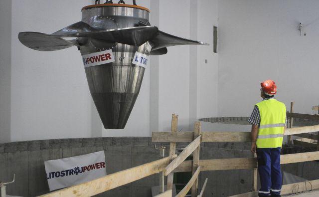 Hidroelektrarne so spet v NEPN. FOTO: Jože Suhadolnik/Delo