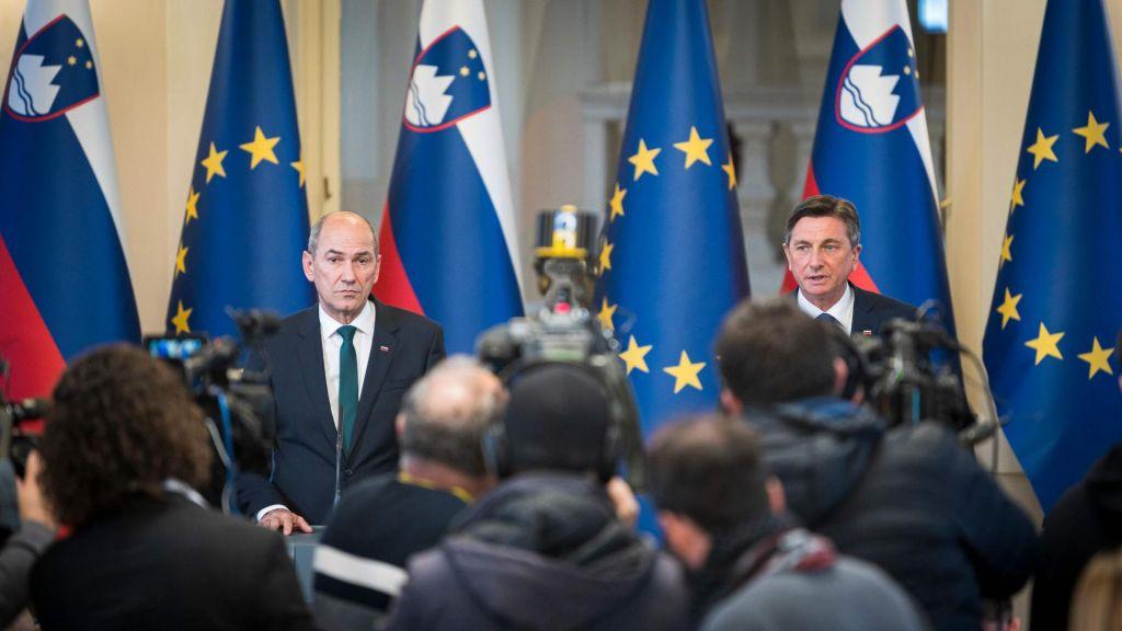 FOTO:Analiza koalicijske pogodbe tretje vlade Janeza Janše