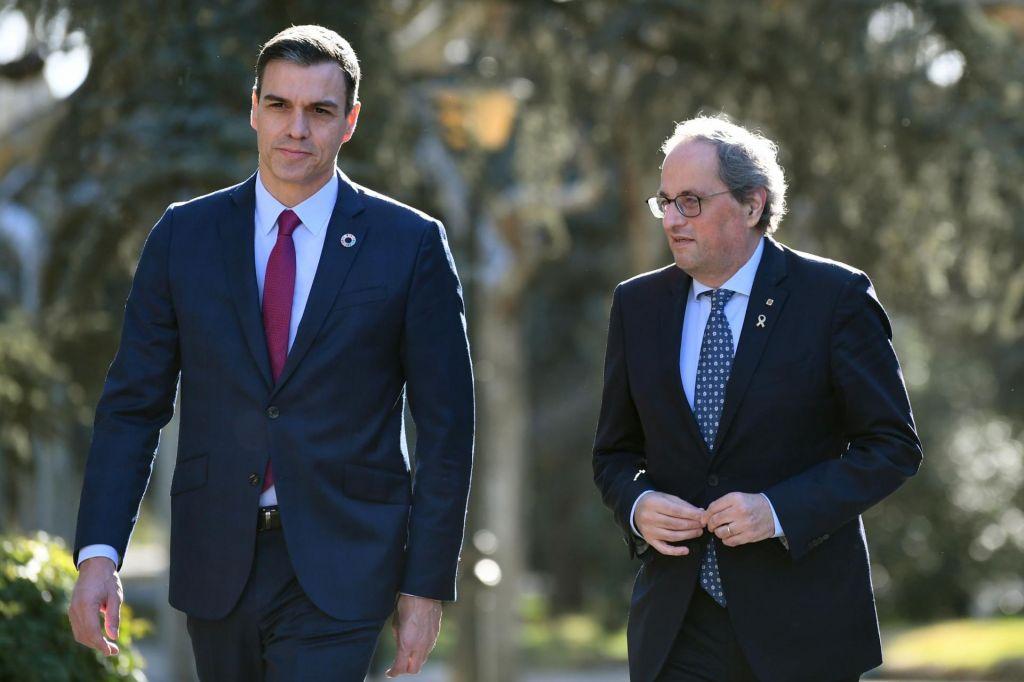 Vljudnostni odriv v špansko-katalonska pogajanja