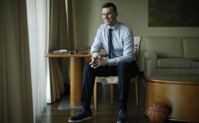 Sani Bečirović je nekdanji košarkar, zdaj pa športni direktor Cedevite Olimpije. FOTO: Jure Eržen/Delo