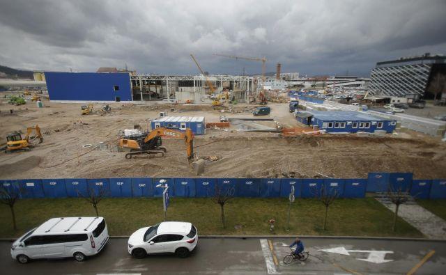 Ikea si želi trgovino v Ljubljani odpreti čim prej, najverjetneje se bo to zgodilo jeseni. Foto: Jure Eržen