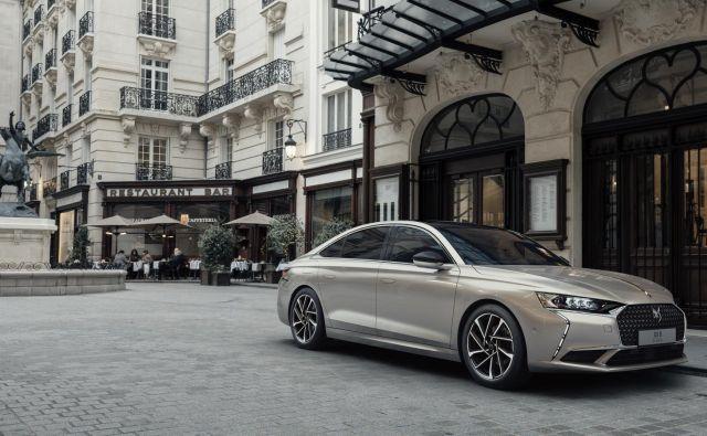 DS9 je najnovejši poskus ponovnega zagona prestižne francoske znamke, tudi vrnitev velike klasične limuzine. FOTO: Style DS