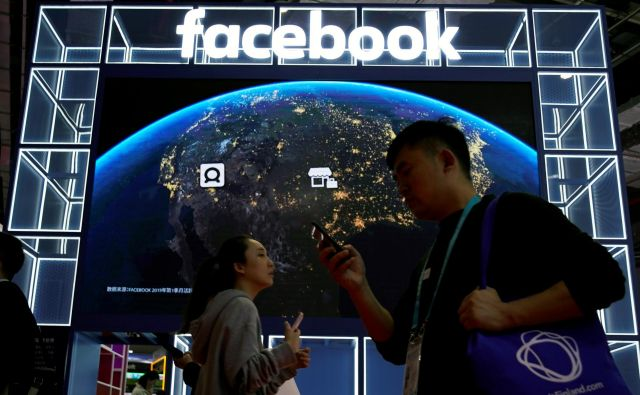 Facebook v Šanghaju Foto Reuters