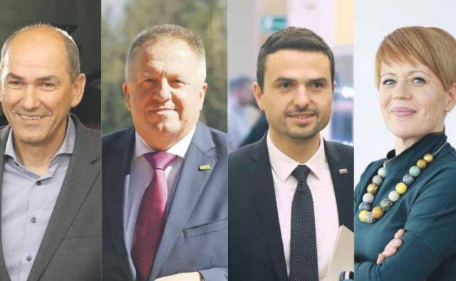 Ministri nove koalicije naj bi bili pri imenovanju državnih sekretarjev suvereni, lahko pa se bosta posameznih stranki dogovorili, da bosta po enega zamenjali. FOTO: Jože Suhadolnik, Blaž Samec, Leon Vidic/Delo